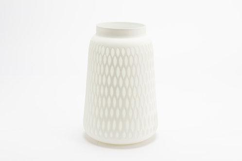 Vase kodiak blanc