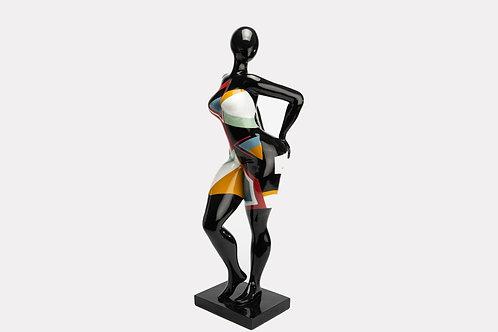 Statue Femme OOPS entend rien