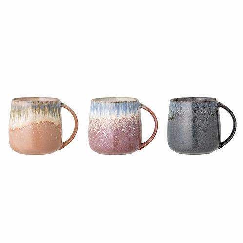 Set de 3 Mugs multicolors