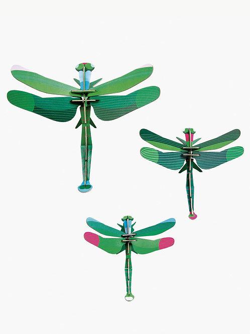 Set de 3 Dragonflies