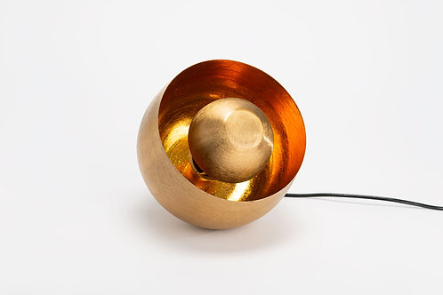 Lampe SAMUEL dorée PM