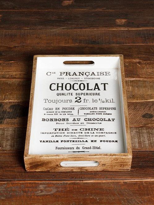 Petit plateau Chocolat