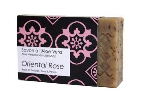 Savon Mauresque oriental rose