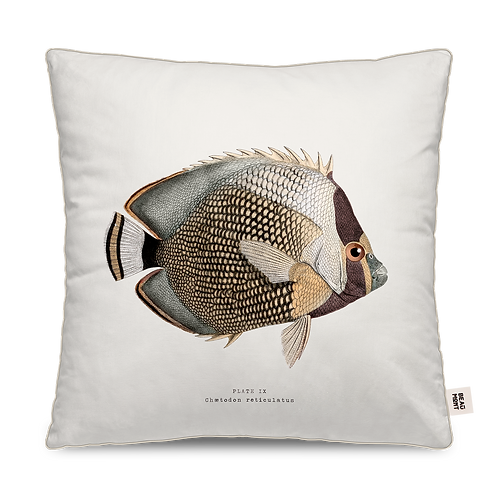 COUSSIN CARRE OUTDOOR POISSON