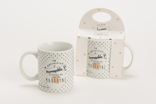 Mug marraine incroyable