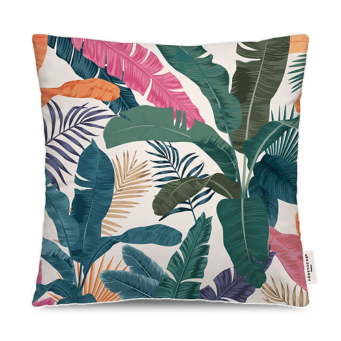 COUSSIN OUTDOOR COULEURS FEUILLAGE