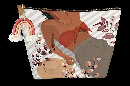 Pochette médium éponge Femme étendue maillot