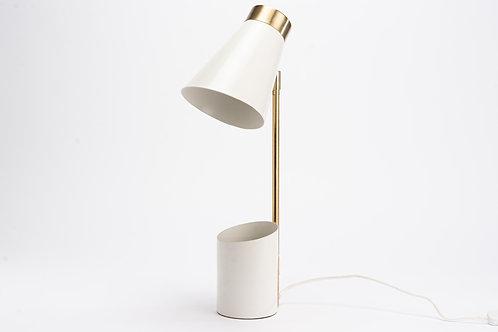 LAMPE DE BUREAU LEO BLANCHE