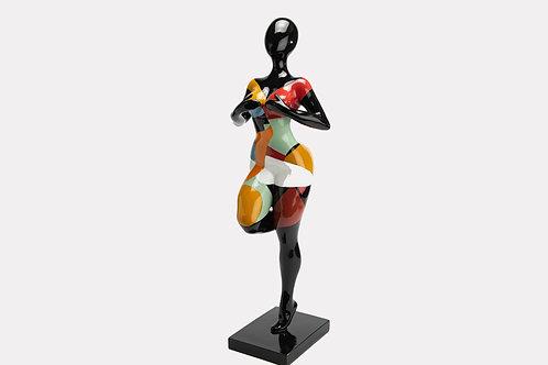 Statue Femme OOPS voit rien
