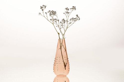 Vase relief pois claire
