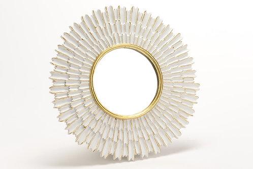 Miroir soleil blanc