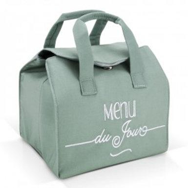 Lunch Bag - Vert - Menu du jour