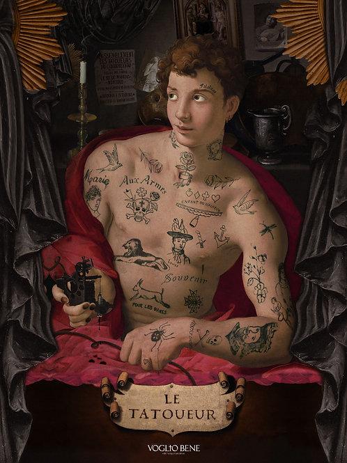 Affiche A3 Le tatoueur
