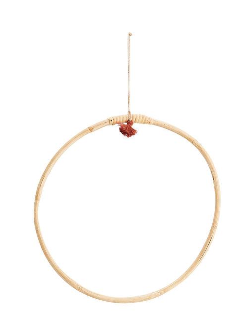 cercle bambou suspendu