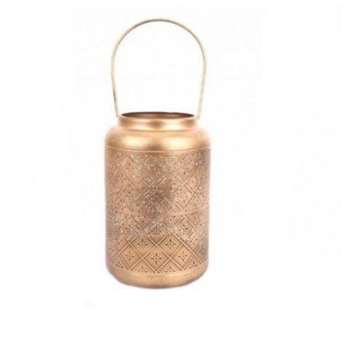 Lanterne dorée 19cm