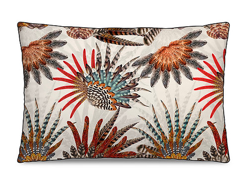 Coussin rectangle velours 40x60 Beaumont
