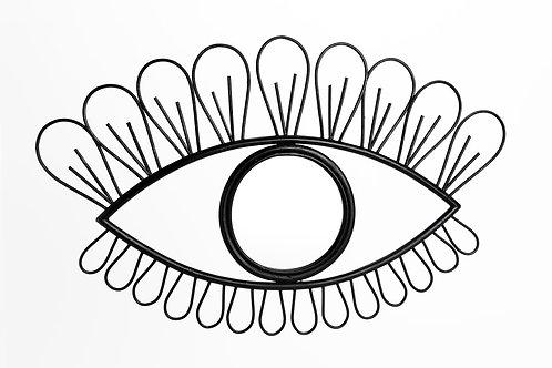 Miroir oeil noir