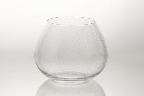 Vase Laucala bulle  transparent