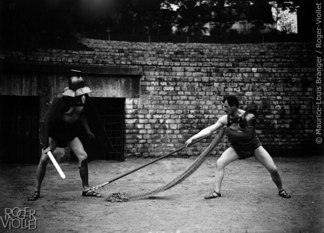 Combat de gladiateurs, 1906