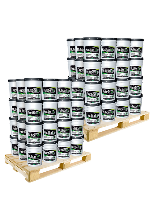 RubberTop White Roof Coating 5.0 GAL- 30% OFF: 2 Pallet Purchase