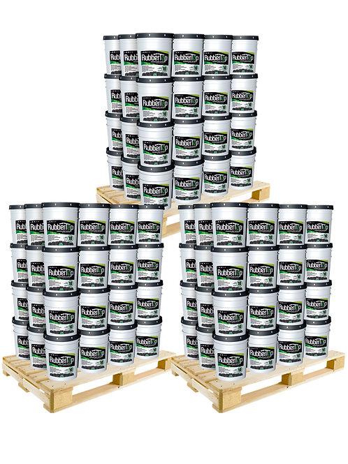 RubberTop White Roof Coating 5.0 GAL- 35% OFF: 3 Pallet Purchase