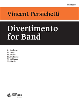 Divertimento for Band, op.42