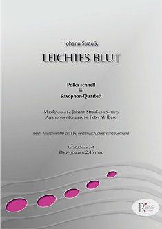 Leichtes Blut • Saxophon-Quartett