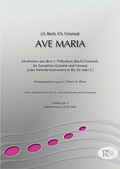 Ave Maria • Saxophon-Quintett