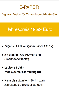 """blasmusik"" Jahres-Abo E-Paper"