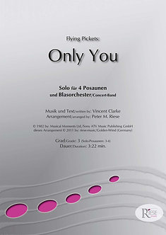 Only You • 4 Posaunen