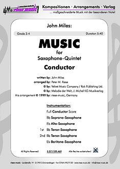Music • Saxophon-Quintett