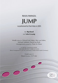 Jump (Rockversion) • kleines Blasorchester