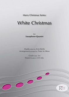 White Christmas • Saxophon-Quartett