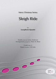 Sleigh Ride • Saxophon-Quartett