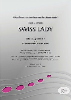Swiss Lady • kleines Blasorchester