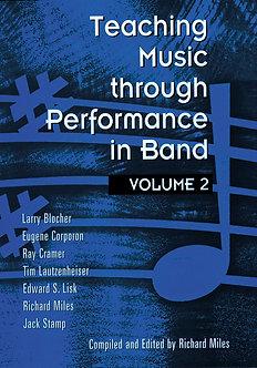 Teaching Music through Performance in Band • Vol. 2