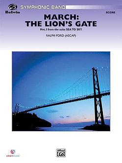 March: The Lion's Gate • Partitur