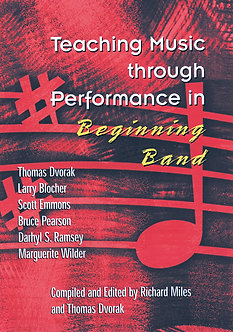 Teaching Music through Performance in Beginning Band • Vol. 1