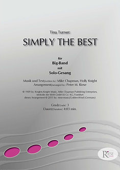 Simply the best • Big Band