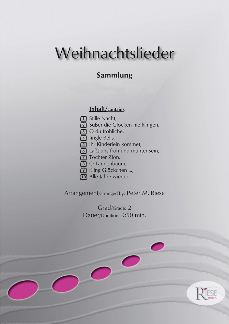 Weihnachtslieder Texte Sammlung.Weihnachtslieder Sammlung Flexible Besetzung Goldenwind Blasmusik