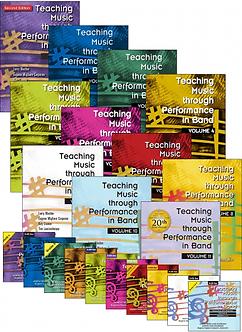 Teaching Music through Performance in Band • Vol. 1 bis 11 • Bundle CDs / Bücher