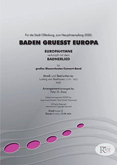 Baden grüßt Europa