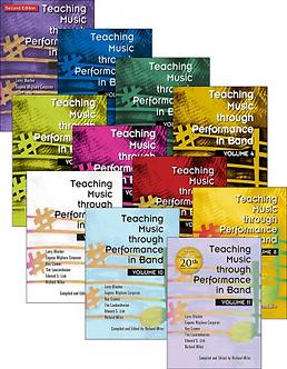 Teaching Music through Performance in Band • Vol. 1 bis 11 • Bundle