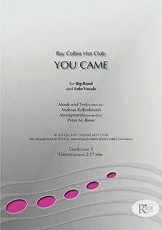 You came • Big Band
