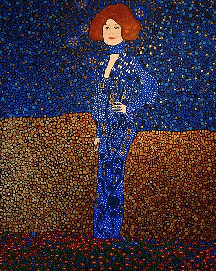 Emilie Floege painting