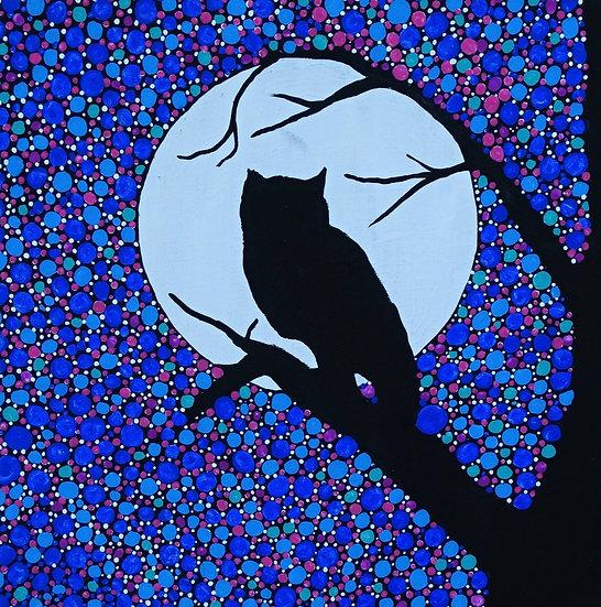 An owl's moon