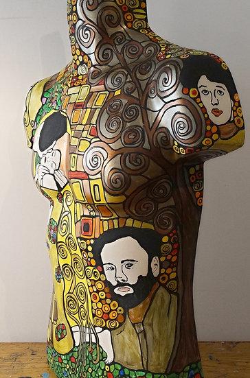 Mannequin art - Klimt torso