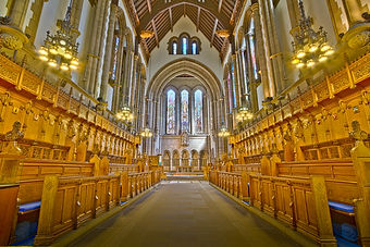 Photograph of University of Glasgow chapel