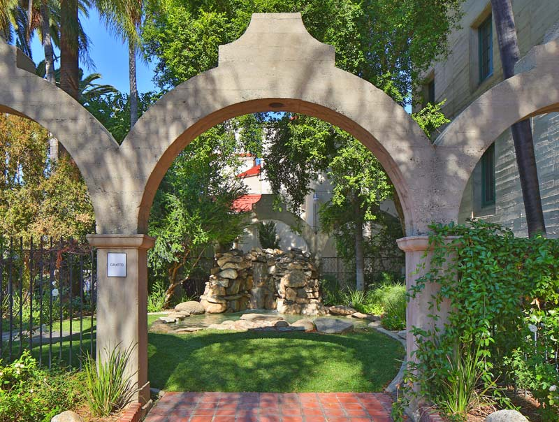 Courtyard at RMA