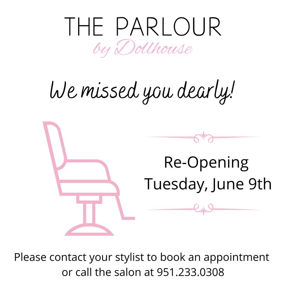 Salon Reopening